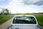 Rancher Carmen Langer parks in front of one of their fields near Peace River, Alberta on July 14, 2010. Residents in the area have been complaining of strong odours in the air which they say are affecting the health of their animals and family members..Jimmy Jeong / www.jimmyshoots.com