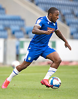 Callum Harriott of Colchester United in action during Colchester United vs Oldham Athletic, Sky Bet EFL League 2 Football at the JobServe Community Stadium on 3rd October 2020