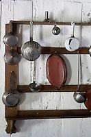 Europe/France/Aquitaine/40/Landes/ Marquèze: Ecomusée de Marquèze, l'Ecomusée de  la Grande Lande détail de la cuisine d'une maison landaise