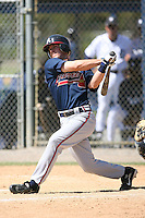March 21st 2008:  Paul Bennett of the Atlanta Braves minor league system during Spring Training at Tiger Town in Lakeland, FL.  Photo by:  Mike Janes/Four Seam Images