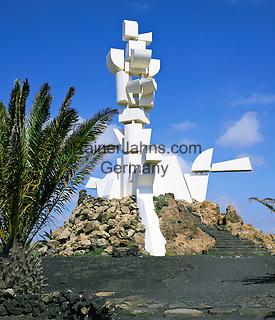 Spain, Canary Island, Lanzarote, monument Al Campesino by Cesar Manrique | Spanien, Kanarische Inseln, Lanzarote, Monumento Al Campesino von Cesar Manrique