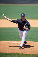 New York Yankees pitcher Trevor Stephan (51) during a Minor League Spring Training game against the Detroit Tigers on March 21, 2018 at the New York Yankees Minor League Complex in Tampa, Florida.  (Mike Janes/Four Seam Images)