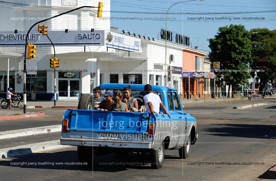 URUGUAY Salto, old pick-up car