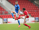 St Johnstone v York City...19.07.14  <br /> Alex Kitchen and Cameron Murray<br /> Picture by Graeme Hart.<br /> Copyright Perthshire Picture Agency<br /> Tel: 01738 623350  Mobile: 07990 594431