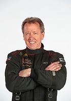 Feb 6, 2020; Pomona, CA, USA; NHRA funny car driver Bob Bode poses for a portrait during NHRA Media Day at the Pomona Fairplex. Mandatory Credit: Mark J. Rebilas-USA TODAY Sports