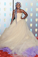 Cynthia Erivo<br /> arriving for the BAFTA Film Awards 2019 at the Royal Albert Hall, London<br /> <br /> ©Ash Knotek  D3478  10/02/2019