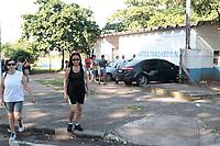 Campinas (SP), 13/03/2020 - Hostilizacao no Centro de Esportes Tancredo Neves, por funcionario Indio, na manha desta sexta-feira (13) na cidade de Campinas (SP).