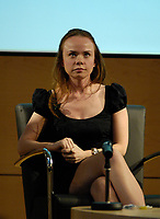 Toronto (ON) Canada, May 11, 2007<br /> <br /> Actress Nadia Litz  at<br /> Literary Language of Film - Toronto's Fabulous Filmmakers hosted by Geoff Pevere. May 11, 2007, A behind-the-scenes scoop on making Monkey Warfare, a film about history, objects, love and revolution. This cautionary tale won a Special Jury Award at the 2006 Toronto International Film Festival. With Director Reginald Harkema, Actor Tracy Wright, Actor Nadia Litz and Actor Don McKellar.