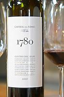 Cuvee 1780 from 2000, cabernet sauvignon tempranillo grenache. Castel del Remei, Costers del Segre, Catalonia, Spain.