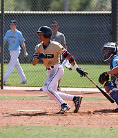 Austen Roelling of  CBA Marucci 2023 plays in the USA Baseball West Championships at Phoenix area baseball complexes from June 23-29, 2021 (Bill Mitchell)