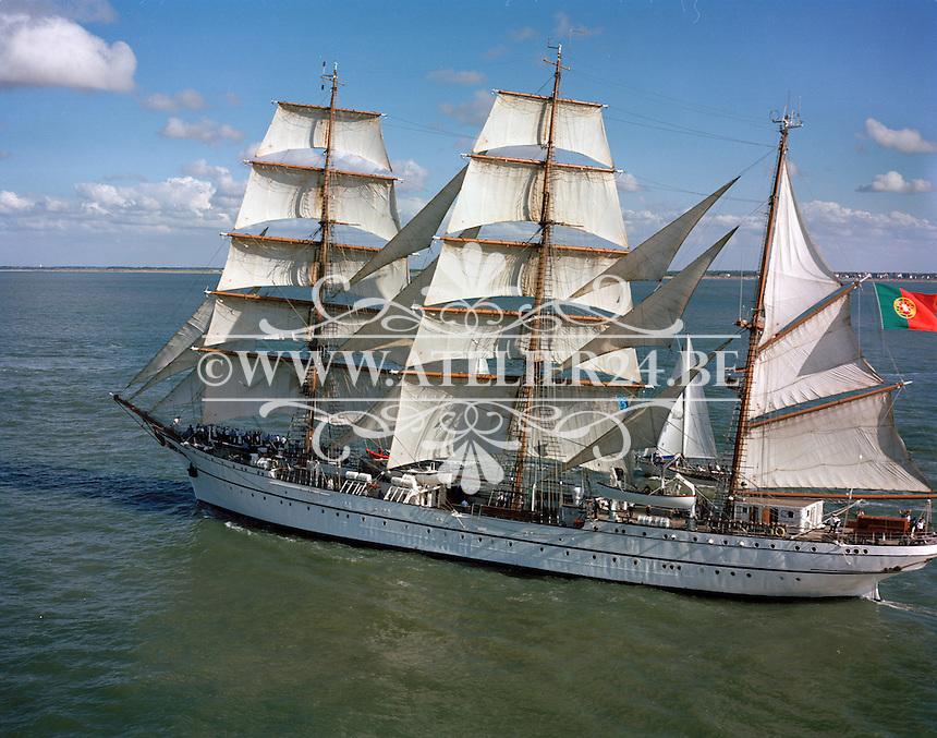 1990.Portugees zeilschip.