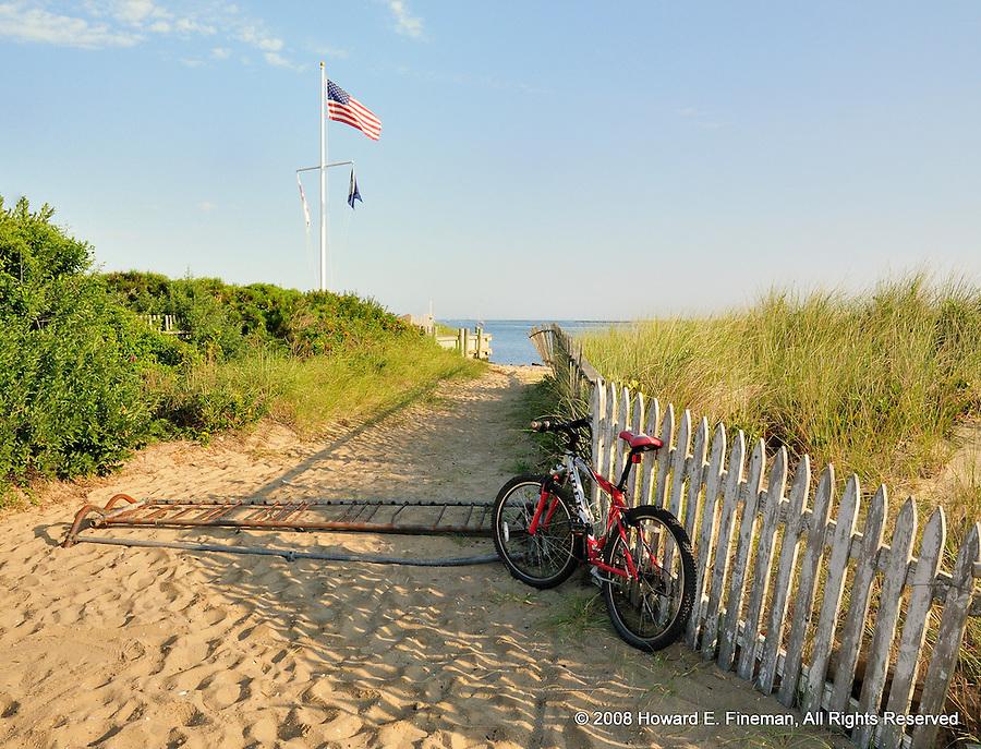 Beach Parking, Brant Point, Nantucket