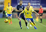 Kilmarnock v St Johnstone…..04.12.19   Rugby Park   SPFL<br />Chris Kane gets away from Stephen O'Donnell<br />Picture by Graeme Hart.<br />Copyright Perthshire Picture Agency<br />Tel: 01738 623350  Mobile: 07990 594431