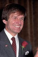 Ronald Corey, Les Canadiens, le 24 janvier 1983<br /> <br /> <br /> <br /> PHOTO : Agence Quebec Presse