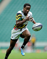 Carlin Isles of San Francisco Golden Gate during the World Club 7s at Twickenham on Sunday 18th August 2013 (Photo by Rob Munro)