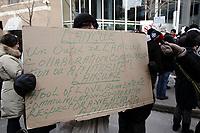 Manifestation a propos de la Loi 14, le 17 fevrier 2013<br /> <br /> Photo : Agence Quebec Presse