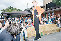 Elizabeth Warren - Iowa State Fair - Political Soapbox - Des Moines, Iowa - 10 Aug 2019