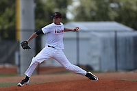 Francisco Martinez Garcia (61) of Caguas Private School in Gurabo, Puerto Rico during the Under Armour Baseball Factory National Showcase, Florida, presented by Baseball Factory on June 13, 2018 the Joe DiMaggio Sports Complex in Clearwater, Florida.  (Nathan Ray/Four Seam Images)