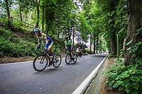 Dries Van Gestel (BEL/Sport Vlaanderen Baloise) in chase of the leaders.<br /> <br /> 71th Halle Ingooigem 2018 (1.1)<br /> 1 Day Race: Halle > Ingooigem (197.7km)