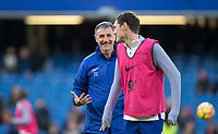 Constantino Coratti Chelsea Assistant first team fitness coach during the EPL - Premier League match between Chelsea and Manchester United at Stamford Bridge, London, England on 5 November 2017. Photo by Andy Rowland / PRiME Media Images.