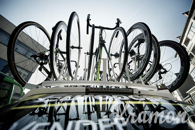 3 Days of De Panne.stage 2..Colnago roof.