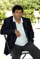 "MOHSEN MELLITI.Photcall for the film ""Io, l'altro"", Campidoglio, Rome, Italy..May 10th, 2007.half length sitting blue jacket  .CAP/CAV.©Luca Cavallari/Capital Pictures"