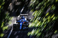 4th June 2021; Baku, Azerbaijan; Free practise sessions;  14 ALONSO Fernando spa, Alpine F1 A521, action during the Formula 1 Azerbaijan Grand Prix 2021 at the Baku City Circuit, in Baku, Azerbaijan
