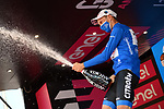 Geoffrey Bouchard (FRA) AG2R Citroen Team wins the mountains Maglia Azzurra at the end of Stage 21 of the 2021 Giro d'Italia, an individual time trial running 30.3km from Senago to Milan, Italy. 30th May 2021.  <br /> Picture: LaPresse/Gian Mattia D'Alberto   Cyclefile<br /> <br /> All photos usage must carry mandatory copyright credit (© Cyclefile   LaPresse/Gian Mattia D'Alberto)