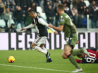 Calcio, Serie A: Juventus - Cagliari, Turin, Allianz Stadium, January 6, 2020.<br /> Juventus' Cristiano Ronaldo (l) is going to score during the Italian Serie A football match between Juventus and Cagliari at Torino's Allianz stadium, on January 6, 2020.<br /> UPDATE IMAGES PRESS/Isabella Bonotto