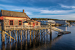The Footbridge House in Boothbay Harbor, Maine, USA