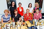 Enjoying the evening in Soprano's on Saturday.<br /> Seated l to r: Joan Walsh, Ann Marie Dineen, Mary Greensmith and Imelda Millan. <br /> Back l to r: Una O'Connor, Martha Casey, Maura Lynch and Rasma Ozola.