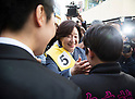 Sim Sang-Jeung presidential candidate for Justice Party campaigns in Seoul