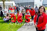 Former Debenhams staff observe their 365th day on the picket line in Manor on Friday.  <br /> Front right: Geraldine O'Regan. Kneeling l to r: Chloe Lynch, Trish O'Sullivan, Rita Gleeson and Mary Dean.