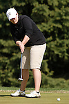 SIOUX FALLS, SD - MAY 4, 2009 :  Kelsey Paul of Fort Hays State putts on the 8th green at Westward Ho Monday during the 2009 NCAA Division II Super Regional Three Women's Golf Championships. (Photo by Dick Carlson/Inertia)