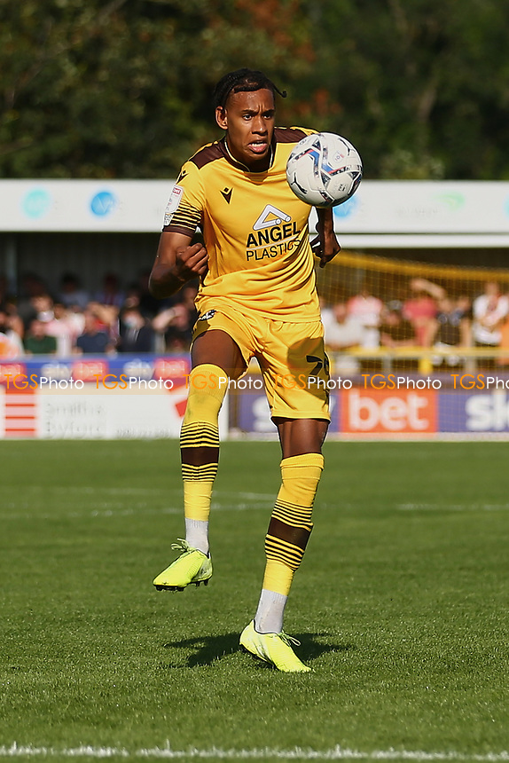Alistair Smith of Sutton United during Sutton United vs Stevenage, Sky Bet EFL League 2 Football at the VBS Community Stadium on 11th September 2021