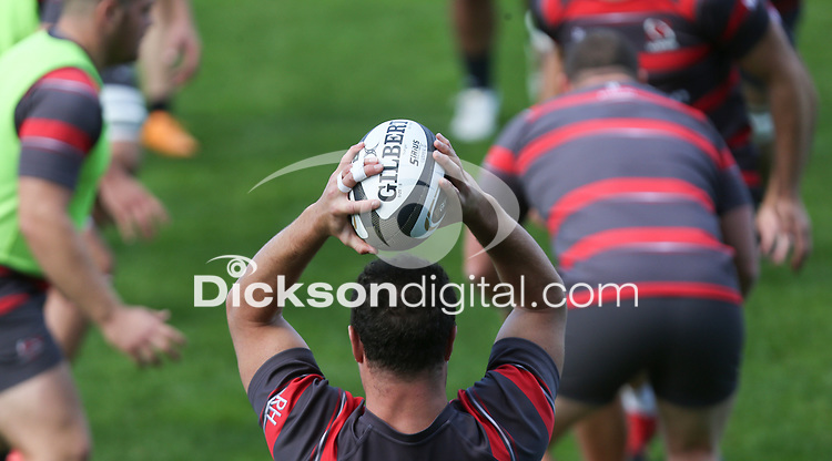 Friday 4th September 2020 | Ulster Captain's Run<br /> <br /> Rob Herring during Captain's Run ahead of the Guinness PRO14 Semi-Final between Edinburgh and Ulster at the BT Murrayfield Stadium Edinburgh, Scotland. Photo by John Dickson / Dicksondigital