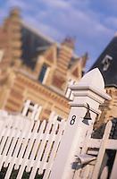 Europe/France/Normandie/Basse-Normandie/14/Calvados/Deauville: Les villas du front de mer