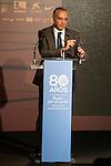 FEB President Jose Luis Saez during the 80th Aniversary of the National Basketball Team at Melia Castilla Hotel, Spain, September 01, 2015. <br /> (ALTERPHOTOS/BorjaB.Hojas)