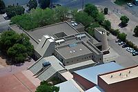 aerial photograph of Roy E. Disney Center for Performing Arts, Albuquerque, New Mexico