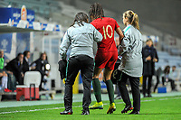 20200304 Faro , Portugal : Portugese forward Jessica Silva (10) pictured during the female football game between the national teams of Portugal and Italy on the first matchday of the Algarve Cup 2020 , a prestigious friendly womensoccer tournament in Portugal , on wednesday 4 th March 2020 in Faro , Portugal . PHOTO SPORTPIX.BE   STIJN AUDOOREN