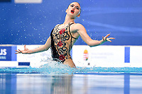 SPORTELLI Isotta, OGLIARI Nicolo ITA Bronze Medal <br /> MIXED DUET FREE Final <br /> Artistic Swimming<br /> Budapest  - Hungary  14/5/2021<br /> Duna Arena<br /> XXXV LEN European Aquatic Championships<br /> Photo Andrea Staccioli / Deepbluemedia / Insidefoto