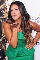 PASADENA, CA, USA - OCTOBER 10: Gina Rodriguez arrives at the 2014 NCLR ALMA Awards held at the Pasadena Civic Auditorium on October 10, 2014 in Pasadena, California, United States. (Photo by Celebrity Monitor)