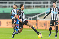 2nd February 2021; St James Park, Newcastle, Tyne and Wear, England; English Premier League Football, Newcastle United versus Crystal Palace; Isaac Hayden of Newcastle United