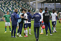 BELFAST, NORTHERN IRELAND - MARCH 28: Christian Pulisic #10 of the United States after a game between Northern Ireland and USMNT at Windsor Park on March 28, 2021 in Belfast, Northern Ireland.