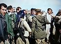 Iraq 2015 9 march,the recapture of villages and land south Kirkuk. Hama Haji Mahmoud with his peshmergas on the front line  Irak 2015 9 mars, la reprise de villages et terres au sud de Kirkouk, Hama Haji Mahmoud avec ses peshmergas sur la ligne de front