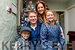 Flynn, Liam, Noreen and Ellie McElligott from Kilmoyley enjoying New Years Eve in Cassidys