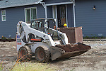 Machine Loader and house