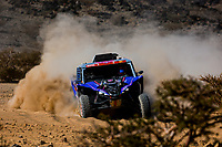 3rd January 2021, Jeddah, Saudi Arabia;  391 Liparoti Camelia (ita), Fischer Annett (deu), Yamaha, X-Raid Yamha Racing Rally Supported Team, Light Weight Vehicles Prototype - T3, action during the 1st stage of the Dakar 2021 between Jeddah and Bisha, in Saudi Arabia on January 3, 2021 -