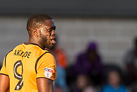John Akinde of Barnet during the 2017/18 Pre Season Friendly match between Barnet and Swansea City at The Hive, London, England on 12 July 2017. Photo by Andy Rowland.