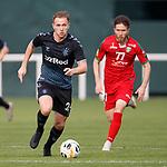 11.01.2020 Rangers v Lokomotiv Tashkent, Sevens Stadium, Dubai:<br /> Greg Stewart attacks for Rangers